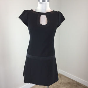 Nanette Lepore Xs 2 Anthropologie Black dress